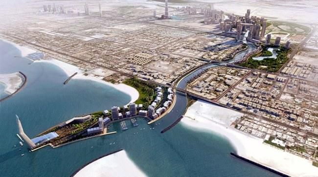 The Dubai Water Canal
