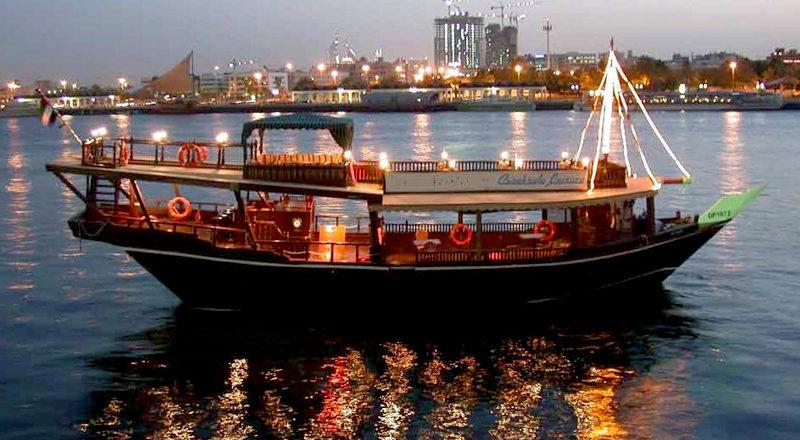 dhow boat dubai