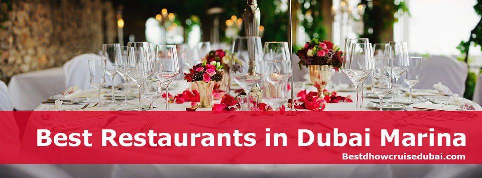 Best Restaurants in Dubai Marina
