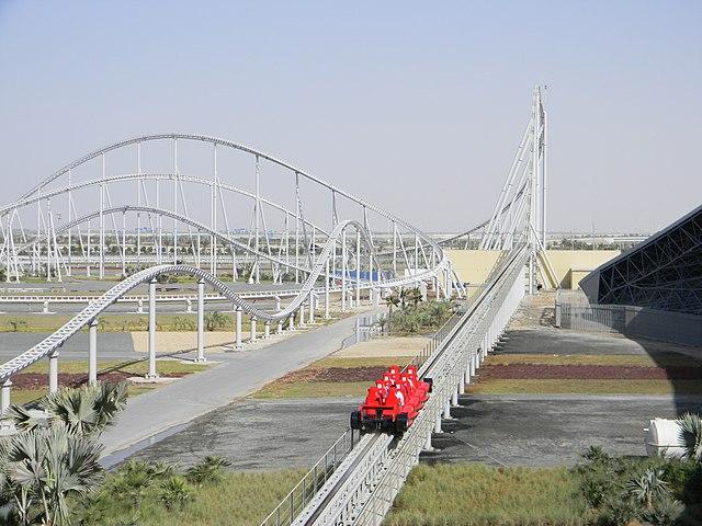 Ferrari World in Dubai