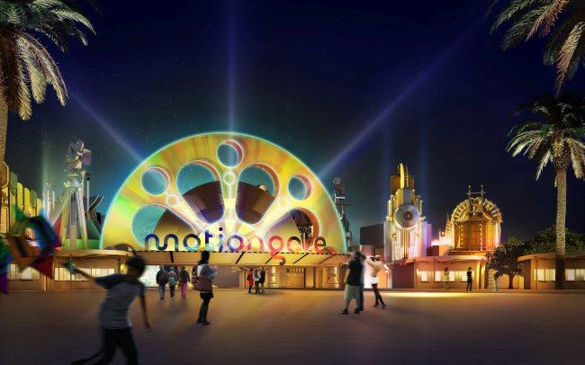 Motiongate Theme Park in Dubai