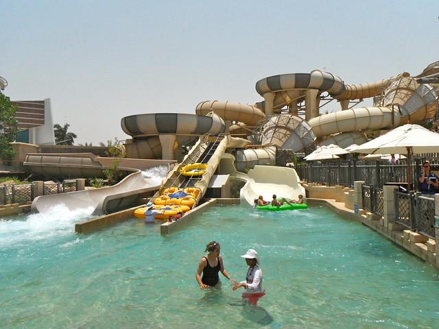 Wild Wadi Waterpark in Dubai, UAE
