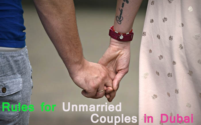Rules and law for Unmarried Couple in Dubai