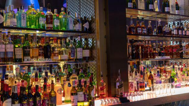Liquor at Dubai Shop